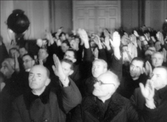 Голосування учасників Львівського Собору. 8 березня 1946 року