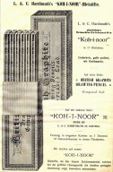 Koh-i-noor Hardtmuth, каталог 1890 року