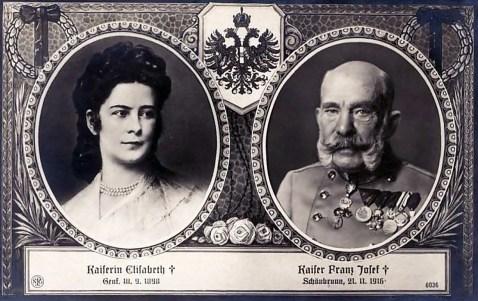 Імператорське подружжя, репродукція листівки ХХ ст. з flickr.com