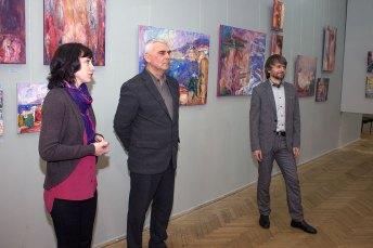 Відкриття виставки Михайла Сидоренка «Tête-à-tête»
