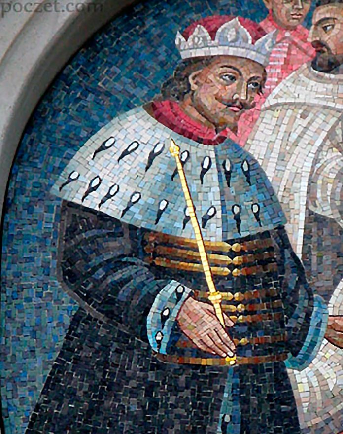 Владислав Опольчик (1326 – 1332рр) (джерело фото https://commons.wikimedia.org/wiki/File:Wladyslaw_Opolczyk.jpg )