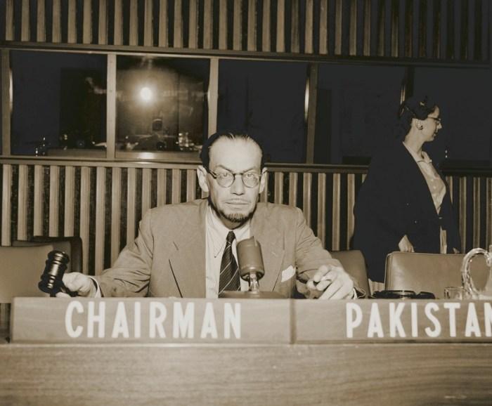 Мухаммад Асад в пакистанському представництві при ООН