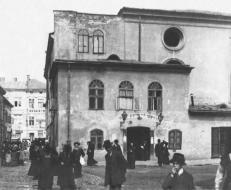 Велика передміська синагога на вул. Сянській. Фото 1920 року