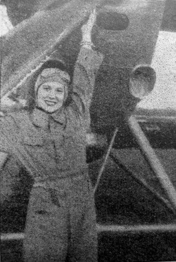 Софія Яблонська перед вильотом, початок 1930-х рр.