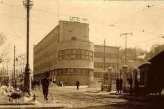 Будівля MZE (теперішня СБУ) по вул. Вітовського. Фото 1930-х рр.