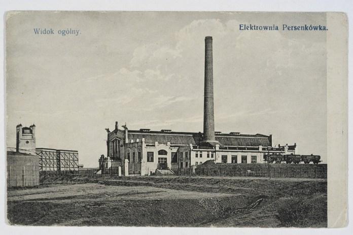 Електростанція на Персенківці. Фото першої пол. XX ст.
