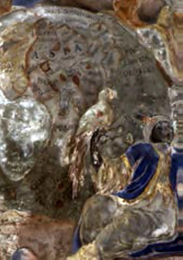 Фреска у церкві св. апостолів Петра та Павла