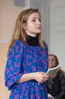 Актриса театру імені Марії Заньковецької Мар'яна Фехтель