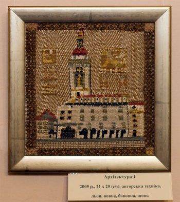 Експозиція виставки Ірини Мінько-Муращик
