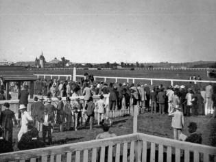 Перший іподром на Персенківці. Фото 1897 року