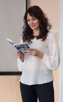 Актриса театру імені Марії Заньковецької Валентина Мацялко