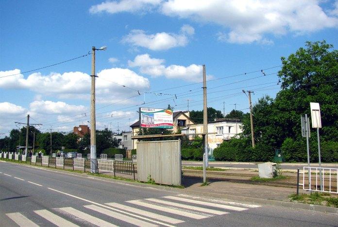 Трамвайна лінія по вул. кн. Ольги, фото 2013 року (фото взяте з :https://ru.wikipedia.org/)