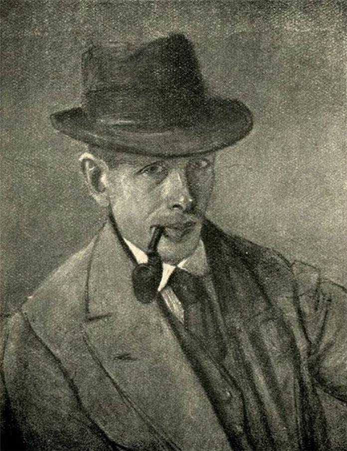 Автопортрет Модеста Сосенка, 1919