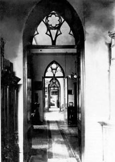 Внутрішнє убранство палацу Туркулів-Комелло. Фото 1920-х.