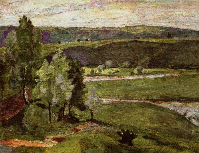 "Ольга Плешкан ""Березина. Долина Дністра"", 1910-ті рр."
