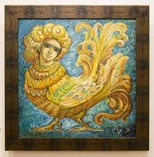 Експозиція виставки «Синя птаха»