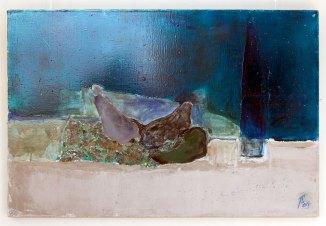 Експозиція виставки Петра Сметани «Малярство. Дія друга»