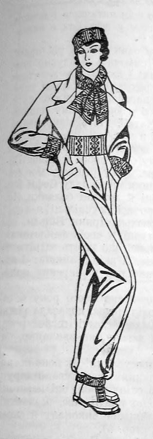 Лещатарський костюм з гуцульськими елементами, 1934 р.