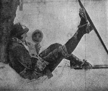 Лещатарка на відпочинку, 1926 р.