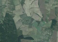 Вигляд зі супутника села Рівне (Кьонігсау)