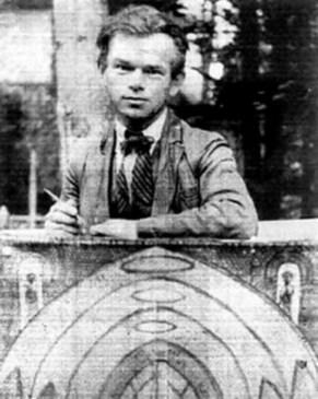 Молодий Никифор, Криниця, 1932 р. (ймовірно фото Р. Турина) (зі сайту http://day.kyiv.ua)