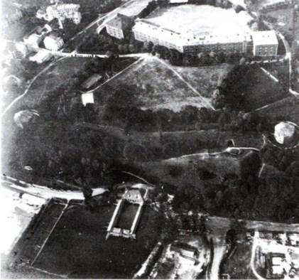 Вул. Вітовського на початку XX ст. Вигляд зверху. Фото 1900-1914 рр.