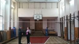 Сучасний спортзал 28 школи - колишня капличка навчального закладу Уршулянок