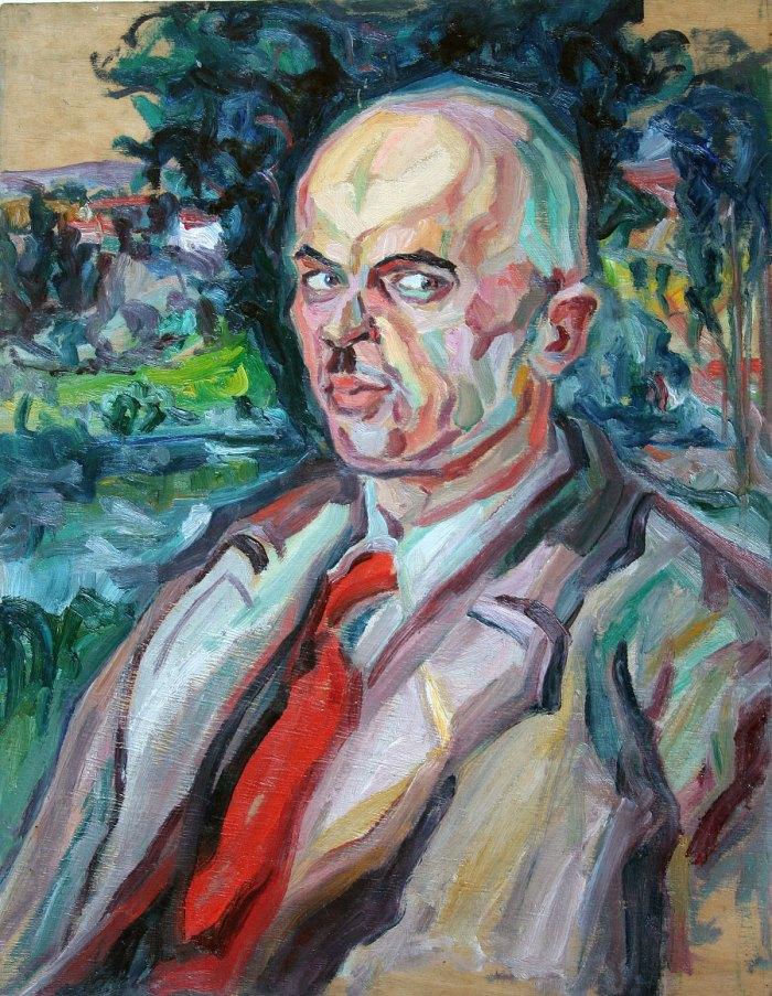 Олекса Новаківський. Портрет Миколи Малицького. 1932 р.