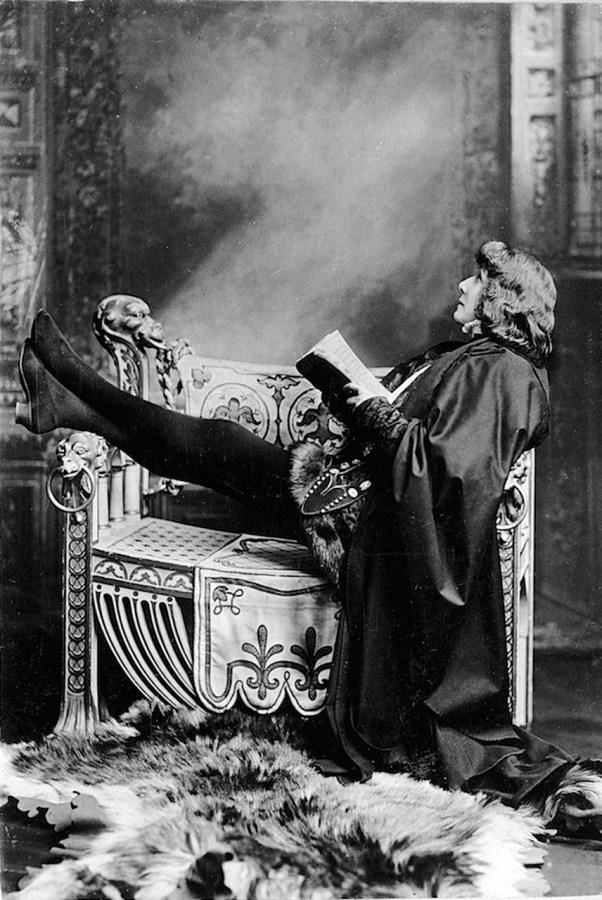 Сара Бернар в ролі Гамлета, 1899 рік
