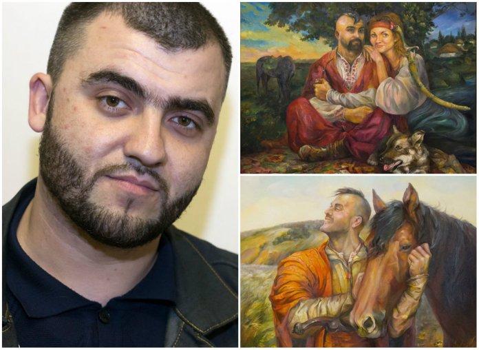 Виставка бійця «Азову» Олександра Канібора відкрилась у Львові