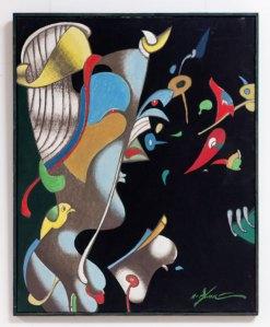 Експозиція виставки «Екзистенція → Космос – вектор львівського модернізму. 1960-1980-ті рр.»