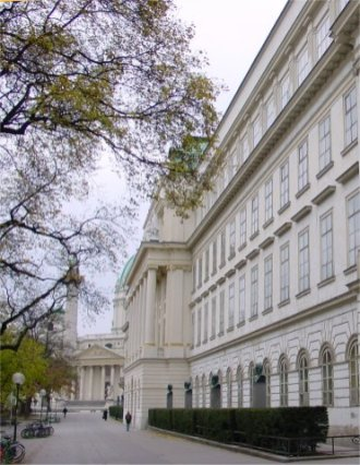 Віденьский технічний університет де навчався Альфред