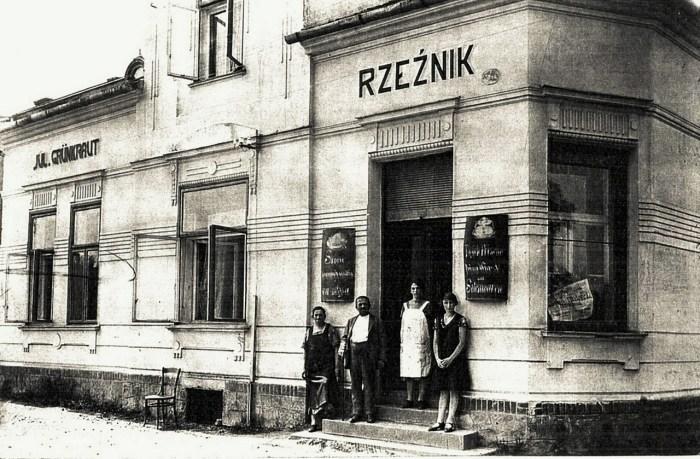 Масарня в курортному польському містечку Устронь, 1906 рік