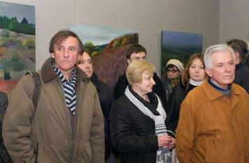 Гості відкриття виставки Людмили Богуславської «Подорож»