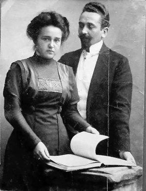 Разом із дружиною. Приблизно 1911-1923 роки