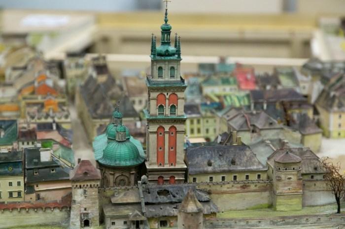 Вигляд босяцької брами на пластинчатій панорамі Вітвицького