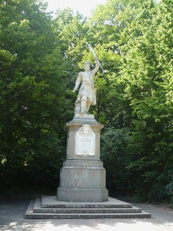 Пам'ятник Я.Кілінському в Стрийському парку. Сучасне фото