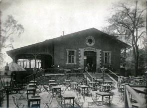 Павільйон кав'ярні, Львів 1922 р. Джерело: https://polona.pl