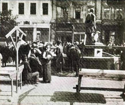 Фонтан «Діана»,1914 рік