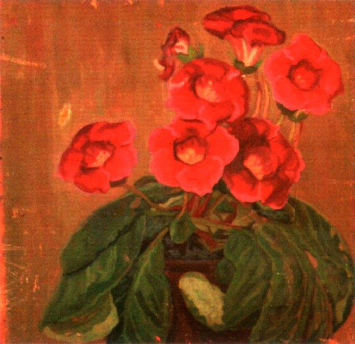 """Олекса Новаківський """"Квітка вазонку"""", 1900-ті рр."""