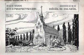 Проект костелу на 200 парафіян