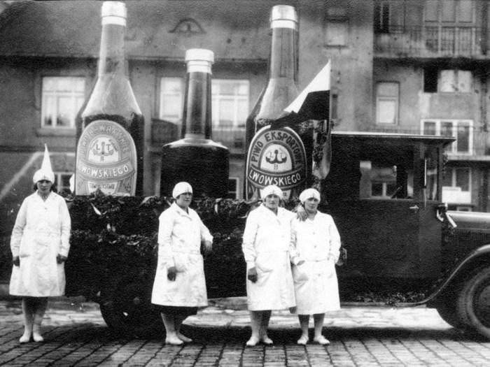 Реклама львівського пива, 1918-1939 рр. Джерело: http://strubcina.org/