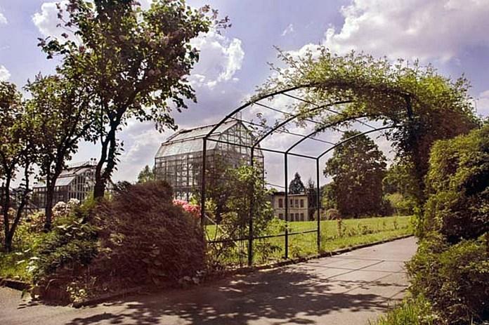 Теплиці ботанічного саду ЛНУ ім. Івана Франка