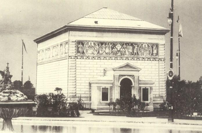 Мавзолей Матейка авторства Ф.Сковрона. Фото 1894 року