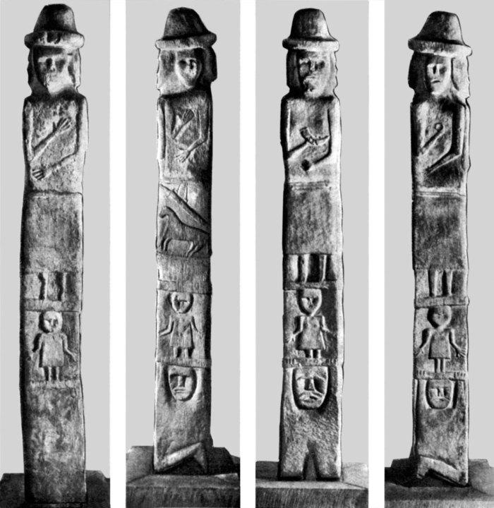 Збручанський ідол знайдений у 1848 році