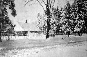 Ярослав Савка. Зима, поч. 1930-х рр. (Світло й Тінь. – 1935. – Ч. 3)