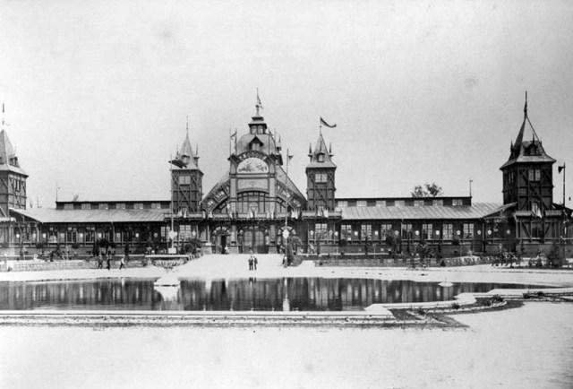 Палац Промисловості - найбільший палац створений Ф.Сковроном. Фото 1894 року