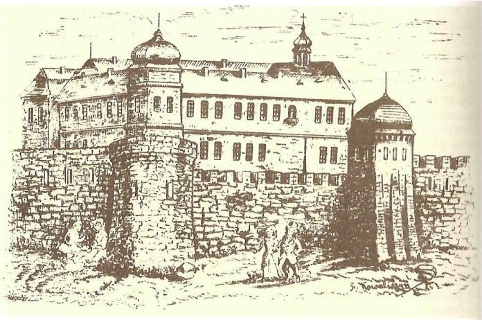 Львів з мурами і вежами, прямо як у Кльоновича. Фото з lviv.at.ua