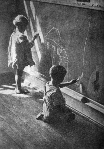 Ярослав Савка. Перше мистецтво, поч. 1930-х рр. (Світло й Тінь. – 1935. – Ч. 6)