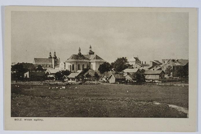 Белз. Загальний вигляд міста. Фото 1931 року